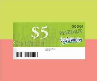 WTB $5 Denomination Capitaland Voucher