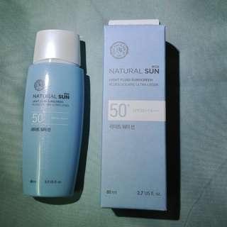 🚚 BNIB Natural Sun Eco Sunscreen SPF50+ PA+++