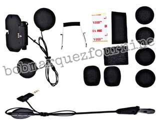 Motorcycle Bluetooth Helmet Replacement Kit V8