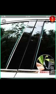 (Ready Stock) Hyundai Elantra AD 216 to 2018. Pillar B window panel. Sticker. Glossy.