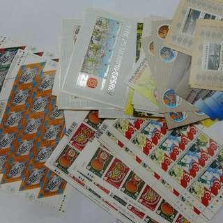 Singapore Mint Stamps sheets, Selling At A Discount, Postage Stamp