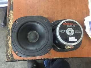 APOGEE Sound INC Made In Norway 5.5 Inch speaker 8ohm