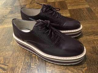Maroon Zara shoes