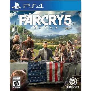 Far Cry 5 PS4 (USED)
