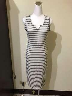 🚚 條紋洋裝