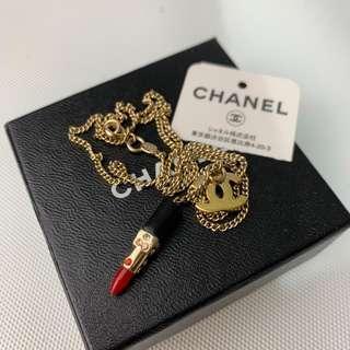 Chanel #vintage lipstick necklace