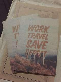 Papemelroti Work Travel Notebooks (Small)