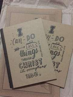 Papemelroti I Can Do All Things Notebooks (Small)