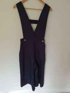 GRAY LABEL NAVY BLUE JUMPSUIT SMALL