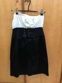 🚚 全新平口假腰帶洋裝