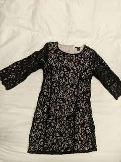 H&M - Lace LBD size small