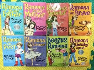 Bundle: Ramona Quimby series 8 Books