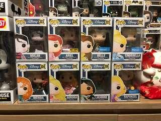 🚚 Funko Pop Dancing Princess Aurora Merida Mulan Ariel Belle Cinderella Rapunzel Jasmine Exclusive Vinyl Figure Collectible Toy Gift Disney Cartoon Animation