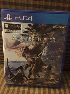 Monster Hunter World PS4 w/ codes