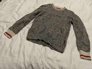 Roots - Wool Pull On Sweater - Size Small Men's (fits like a large in women's)