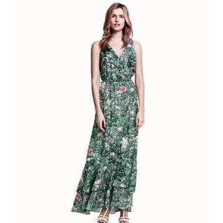 H&M tropical maxi dress