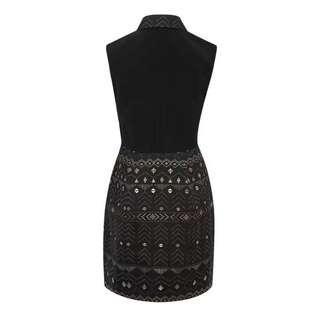 Ted Baker cut label elegant shirt dress