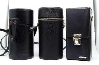 Vintage Camera Lens Cases