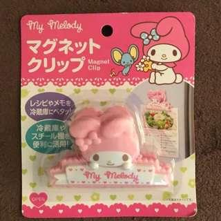 My melody magnet clip 磁石夾