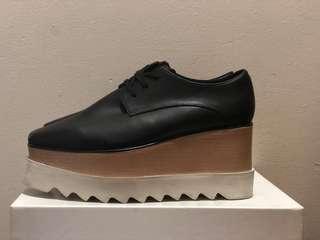 Authentic stella mccartney Black Elyse Shoes Platform Shoe