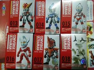 全套6個咸旦超人Converge Ultraman 3