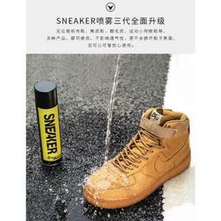 🚚 鞋迷sneaker 納米鞋面防水噴霧劑翻毛皮鞋雪地防塵防汙洗球鞋神器