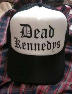 """Topi jaring """"Dead Kennedys"""" (band Punk)"""