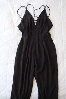 Super cute black jumpsuit