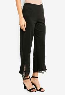🚚 Straight Cut Pants with Lace