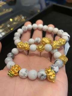 🚚 999 Gold Bracelet