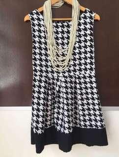 Chanel Style 1 piece Dress Free Style (Dress Only)