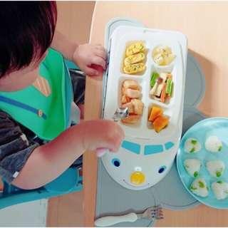 日本連線~預購~日本代購 可愛造型火車餐盤 火車造型兒童餐盤 新幹線