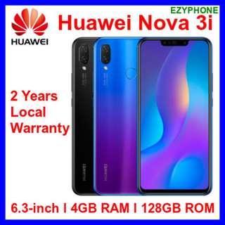 NEW Huawei Nova 3i 128GB Local Warranty Android 4GB RAM