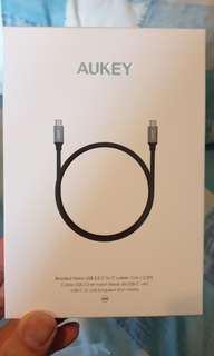 🚚 Aukey USB C to USB C Cable