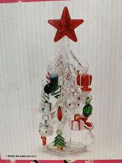 絕版2006年Hello Kitty 玻璃聖誕樹