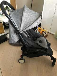 Yoya foldable stroller (+brand new cover and rain cover)