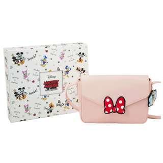 Disney x Grace Gift Mickey & Minnie Envelope Crossbody Bag