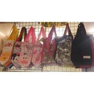 迪士尼TSUM TSUM 防水袋 環保袋水壺袋手提袋手搖杯袋杯套水壺袋