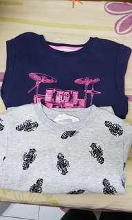 H&M Boys long sleeves Sweater × 2
