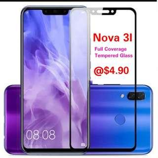 Nova 3i Full Coverage Tempered Glass
