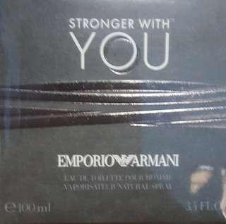 Authentic Emporio Armani Stronger With You.