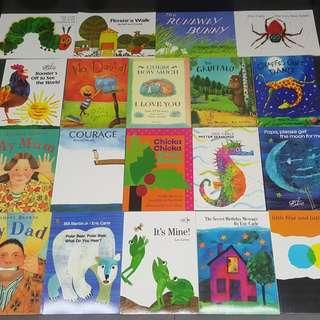 Famous Award Winning Picture Books Paperback Eric Carle Giving Tree Dr Seuss Gift Montessori
