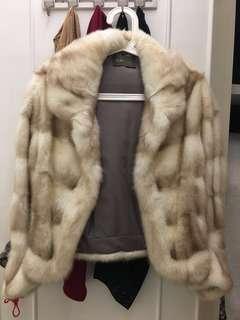 Womens Mink Jacket size M