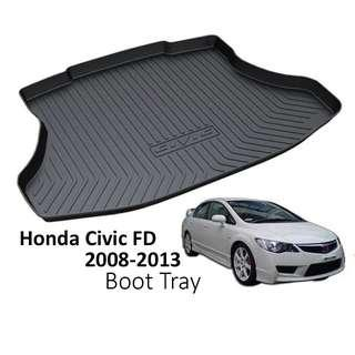 Boot tray FD