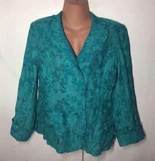 ❤️ 108  Pre loved Plus size Mint-green Blazer