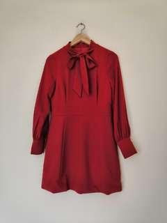 Dress Orange Red