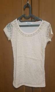 Brukat blouse Zara