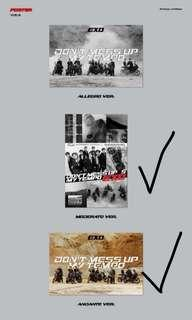 Exo official folded poster