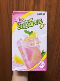 韓國NESTLE 雀巢粉紅檸檬茶