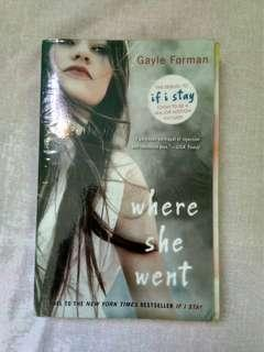 Where She Went (Gayle Foreman)